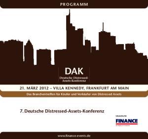 7. Deutsche Distressed-Assets-Konferenz