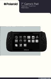 7 Game s Pad. Tablet de 7 Dual Core PMID703DC