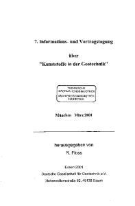 7. Informations- und Vortragstagung. tiber