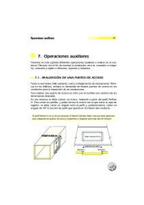 7. Operaciones auxiliares