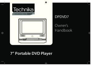 7 Portable DVD Player