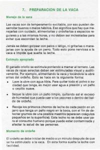 7. PREPARACION DE LA VACA