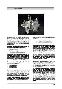 7. Strahlteiler. Es lassen sich zwei Arten von Strahlteilerschichten klassifizieren :