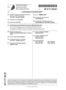(72) Erfinder: Trautvetter, Manfred Erfurt (DE)