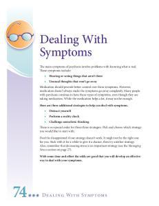 74 Dealing With Symptoms. Dealing With Symptoms