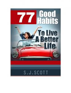 77 Good Habits to Live a Better Life