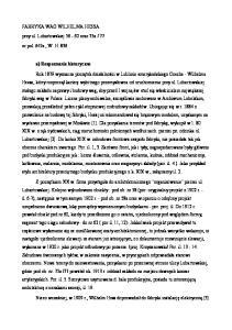 77. nr pol. 647a, W. H a) Rozpoznanie historyczne