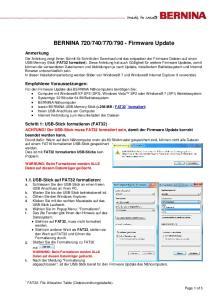 790 - Firmware Update