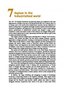 7Asylum in the. industrialized world