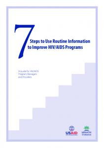 7Steps to Use Routine Information