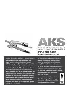 7th Grade Complete AKS