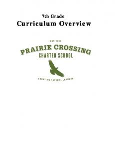 7th Grade. Curriculum Overview