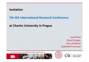 7th IEA International Research Conference