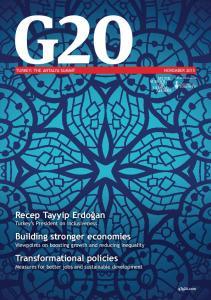 7UDQVIRUPDWLRQDO SROLFLHV Measures for better jobs and sustainable development