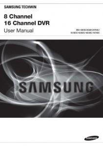 8 Channel 16 Channel DVR