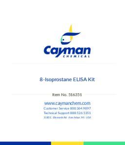 8-Isoprostane ELISA Kit