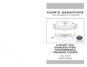 8-QUART OVAL STAINLESS STEEL PROGRAMMABLE
