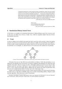 8 Randomized Binary Search Trees