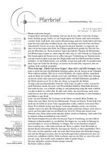 8. SONNTAG Ev: Mt 6, ASCHERMITTWOCH Ev: Mt 6, FASTENSONNTAG Ev: Mt 4,1-11