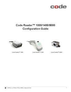 8000 Configuration Guide