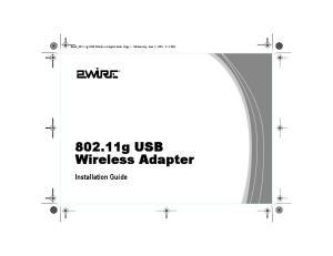 802.11g USB Wireless Adapter