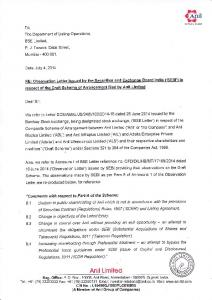 8.1 Dilution in public shareholding af Anit which is not in accordance with the provisions
