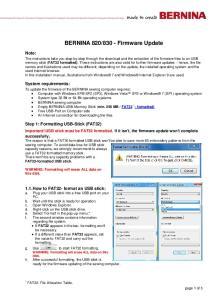 830 - Firmware Update