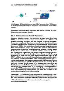 8.3.2 Detektoren zum WIMP-Nachweis 1