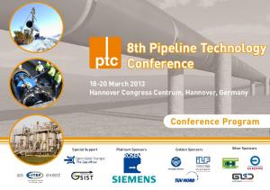 8th Pipeline Technology Conference