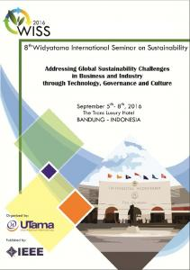 8th Widyatama International Seminar on Sustainability (WISS)