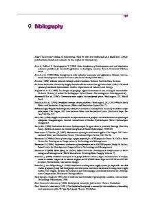 9. BIBLIOGRAPHY. 9. Bibliography