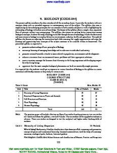 9. BIOLOGY (CODE-044)