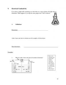9. Electrical Conductivity