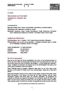 9 Leben. Dokumentation von Maria Speth Deutschland 2010, 109 Minuten, Farbe FSK: 12. Einsatzbereiche