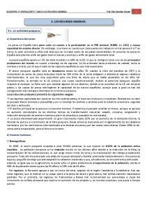 9. LOS RECURSOS MARINOS