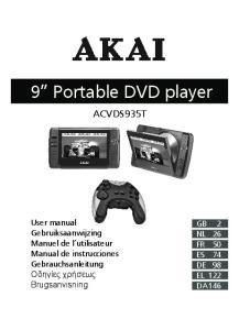 9 Portable DVD player
