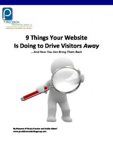 9 Things Your Website Is Doing to Drive Visitors Away And How You Can Bring Them Back