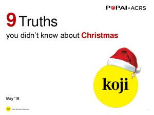 9 Truths you didn t know about Christmas