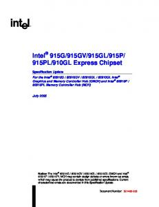 910GL Express Chipset