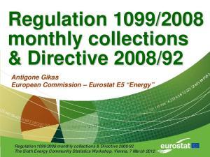 92. Antigone Gikas European Commission Eurostat E5 Energy