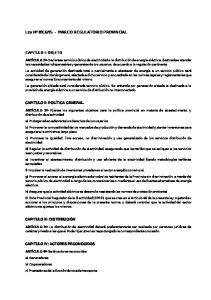 95 - MARCO REGULATORIO PROVINCIAL