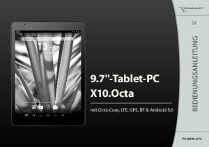 9.7''-Tablet-PC X10.Octa