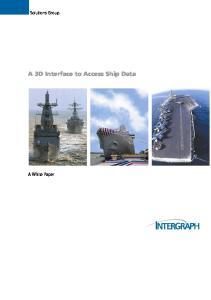 A 3D Interface to Access Ship Data
