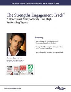 A Benchmark Study of Sixty Five High Performing Teams
