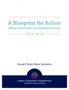 A Blueprint for Action