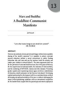 A Buddhist-Communist Manifesto
