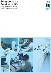 A career in Biomedical Science