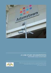 A Case Study of Adamstown South Dublin County Council, Ireland