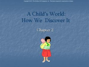 A Child s World: How We Discover It