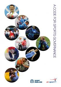 A CODE FOR SPORTS GOVERNANCE